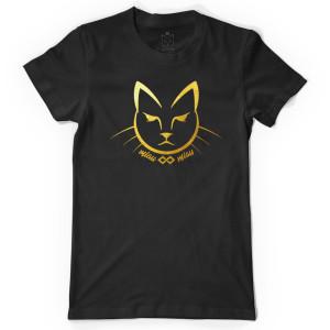 Tricou Pisica Gold