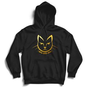 Hanorac cu gluga Pisica Gold