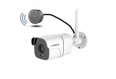 MEESO 4G WIFI IP CAMERA WITH ANYLITICS images