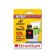Strontium 128GB Micro SDXC UHS-1 U1 Class10 Card with SD Adaptor