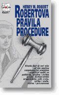 Slika Robertova pravila procedure  HENRY M. ROBERT