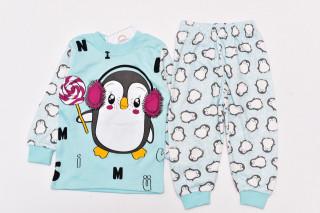 Pijamale Pinguin (verde menta)
