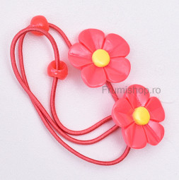 Set 2 elastice par - Floricele