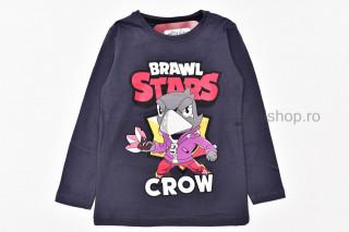 Bluza Crow (gri inchis)