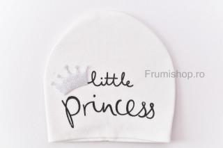 Caciulita Little Princess (alb)