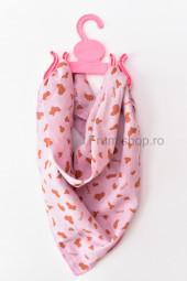 Esarfa (roz movuliu)