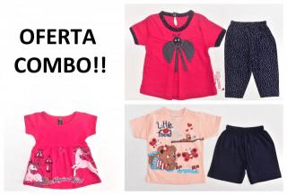 OFERTA COMBO!! Set fetite 6-9 luni + 1 jucarie CADOU
