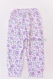 Pantaloni de Casa cu Manseta