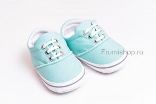 Pantofiori sport bebelusi (verde menta)