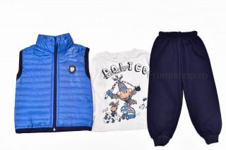 Trening 3 piese Police (albastru)