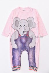 Salopeta Elefant (roz)