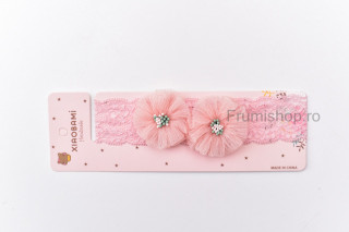 Bentita Floricele - roz piersicuta