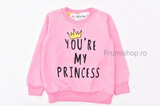 Bluza Princess (roz-deschis)