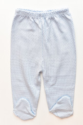 Pantaloni bumbac cu Botosei