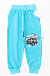 Pantaloni Trening Off Road (turcoaz)