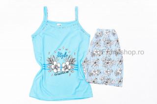 Pijamale dama pentru vara - Flori