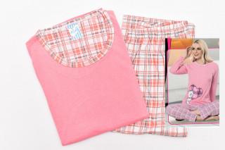 Pijamale Dama- Ursulet culoare Piersicuta