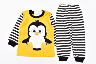 Pijamale Pinguin (galben)