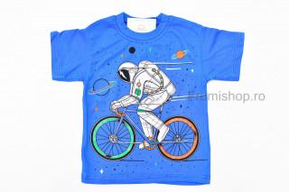 Tricou Bike (albastru)