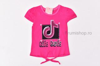 Tricou Tik Tok (fucsia)