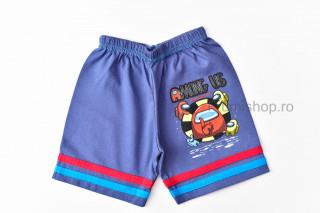 Pantaloni scurti Among (albastru inchis)
