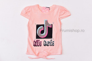 Tricou Tik Tok (piersicuta)