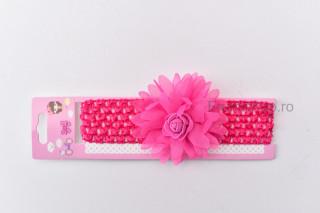 Bentita Floricica roz fucsia