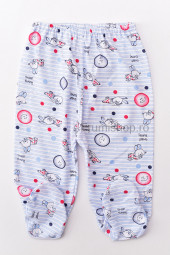 Pantaloni de casa cu botosei - Iepurasi