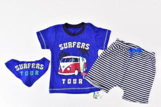 Set 3 piese Surfers Tour (albastru)