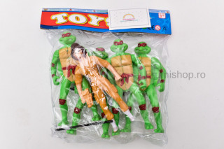 Set figurine Broscute Ninja