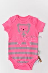 Body Ursulet - maneca scurta (roz)