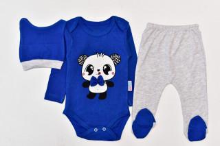 Compleu 3 piese cu body - Panda