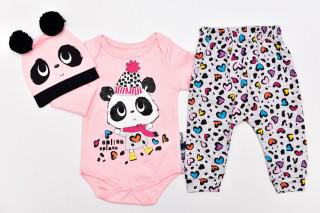 Compleu 3 Piese Panda