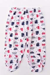 Pantaloni de Casa cu Botosei - Masinute