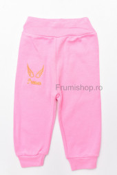 Pantaloni trening - Prenses (roz/frez)