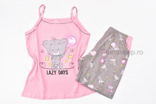 Pijamale dama pentru vara - Ursulet