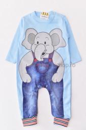 Salopeta Elefant (bleu)