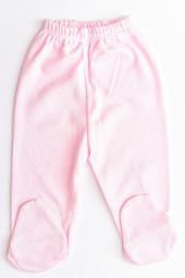 Pantaloni bumbac cu Botosei - roz/piersicuta