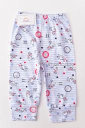 Pantaloni de Casa cu Manseta - Iepurasi