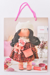 Punga cadou din carton - 26x32x10.5 cm