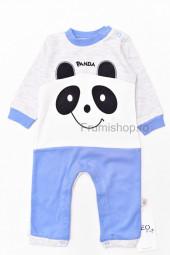 Salopeta Panda ( Albastru)