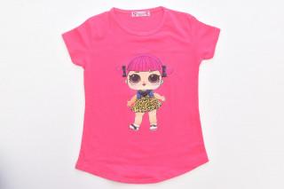 Tricou Fetite - Corai