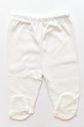 Pantaloni cu botosei (alb/ivoire)