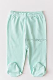 Pantaloni cu botosei (verde menta)