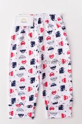 Pantaloni de Casa cu Manseta - Masinute