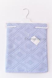 Patura tricotata Romburi (bleu) - 75x95 cm