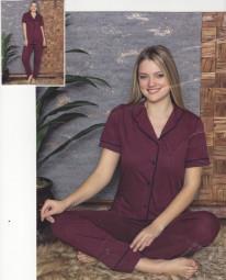 Pijamale Dama - grena