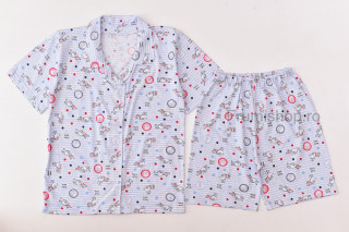 Pijamale de vara - Iepurasi