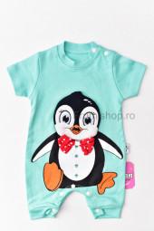 Salopeta scurta - Pinguin (verde menta)