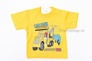 Tricou Car Park (galben)